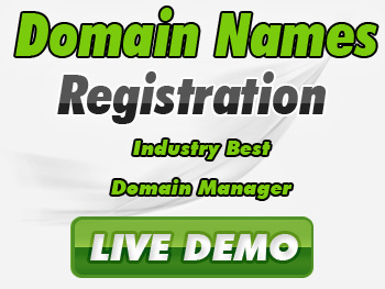Budget domain registration service providers